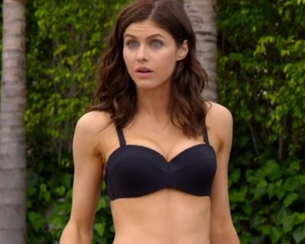 "Alexandra Daddario In A Bikini For ""Why Women Kill"""