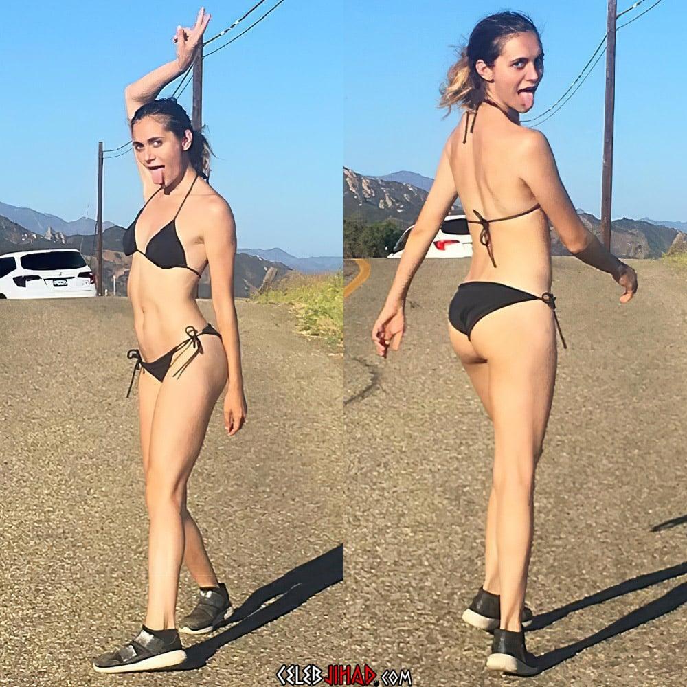 Alyson Stoner Flaunts Her Tight Crazy Ass