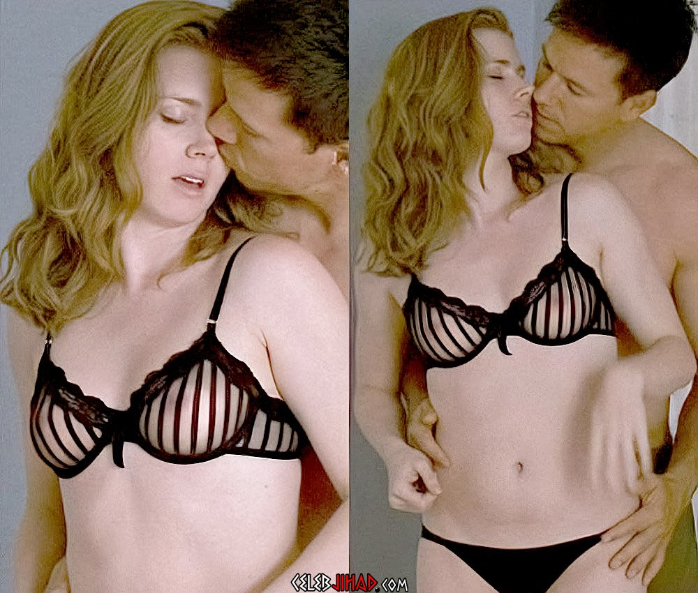 Amy Adams Nude Scenes Remastered And A.I. Enhanced