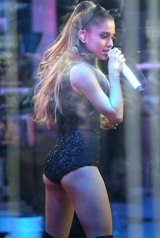 Ariana Grande's Cheeky Performance Pic