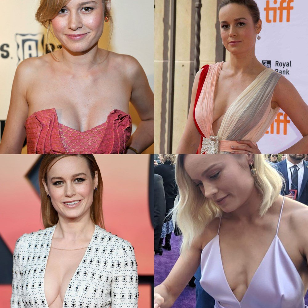Brie Larson Tits And Ass In A Bikini