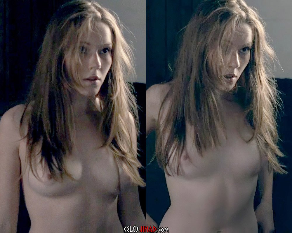 "Charlotte Spencer Nude Sex Scene From ""Glue"""