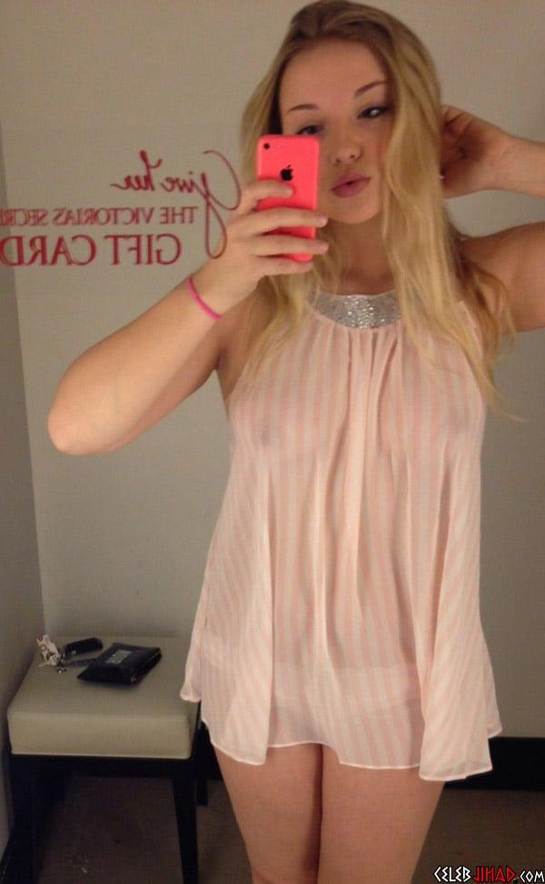 Dove Cameron See Thru Nightie Snapchat Leaked