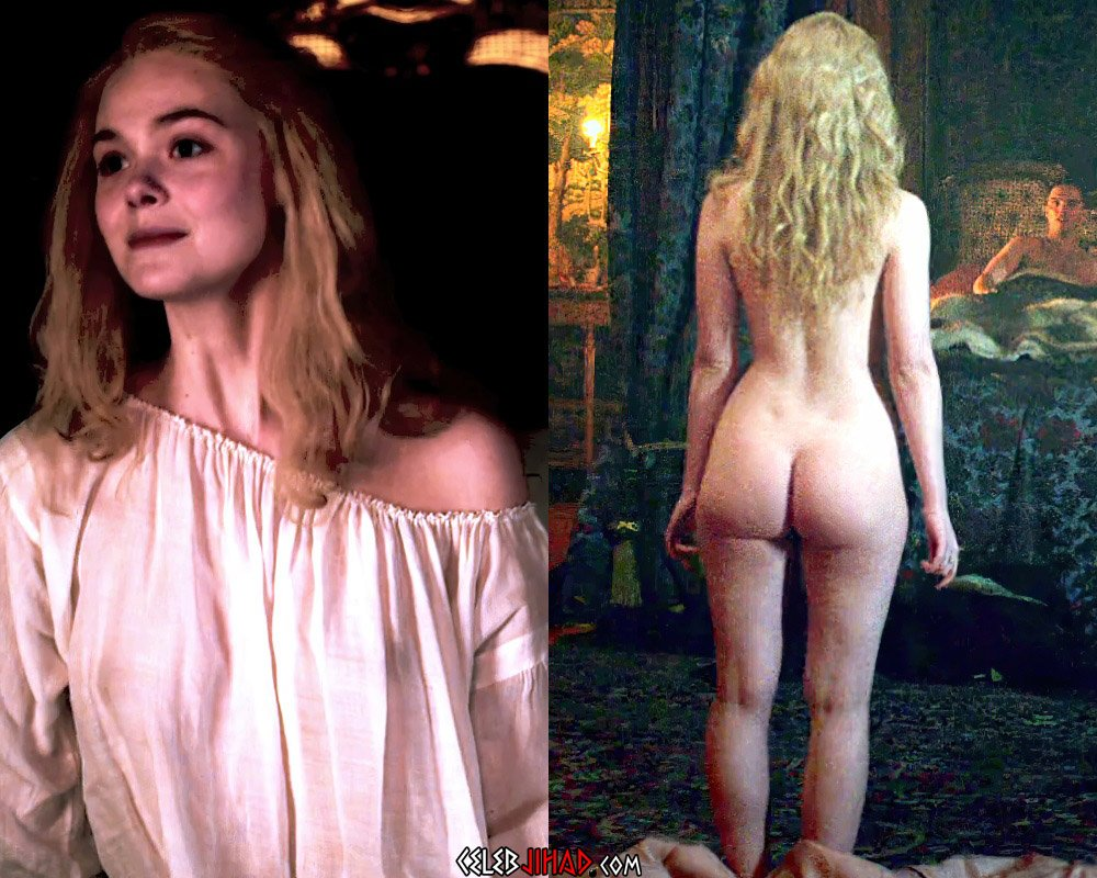 """Elle Fanning's First Ever Nude Scene From """"The Great"""""""