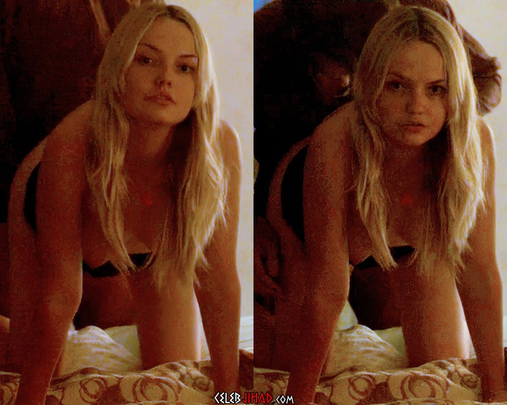 """Emily Meade Nude Doggy Style Sex Scene From """"The Deuce"""""""