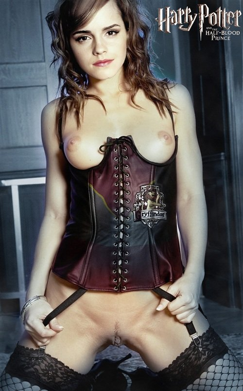 Emma Watson In A Corset For Harry Potter 3D