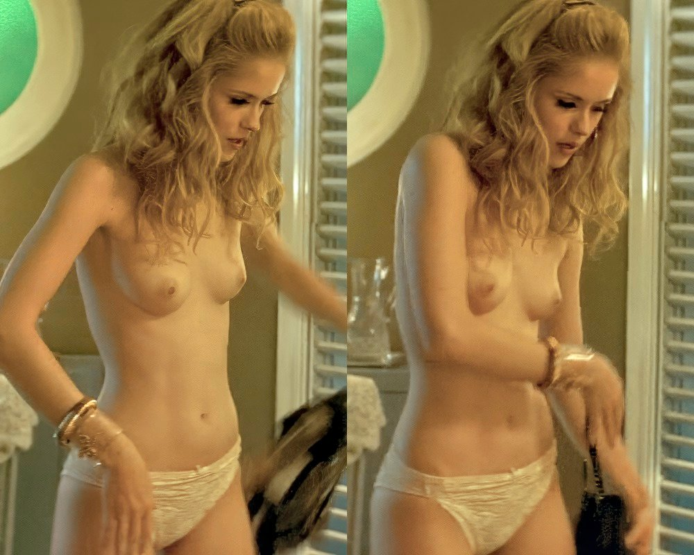 "Erin Moriarty Nude Debut In ""Driven"""