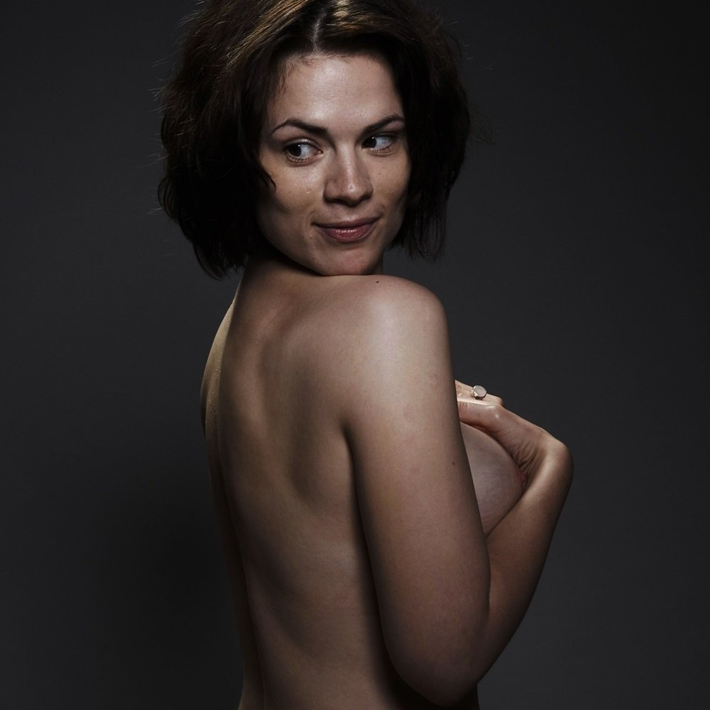 Hayley Atwell Nude Nip Slip Outtake Leaked