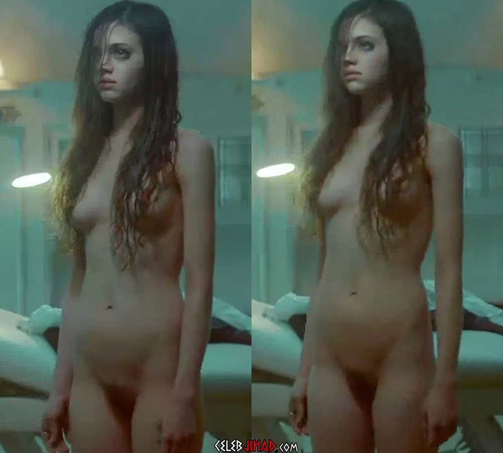 "India Eisley Nude In ""Look Away"" Brightened And Enhanced"