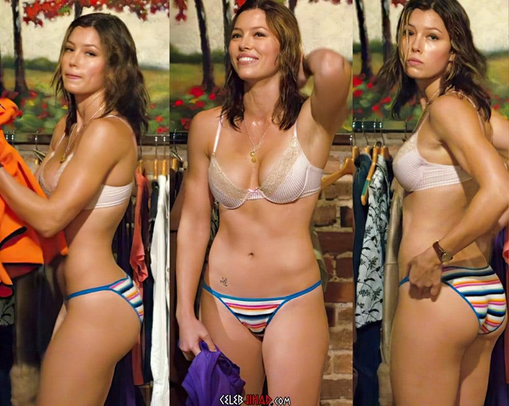 Jessica Biel Nude Photos Enhanced