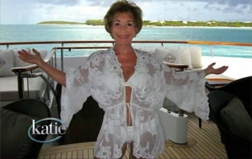Judge Judy Old Lady Bikini Pic
