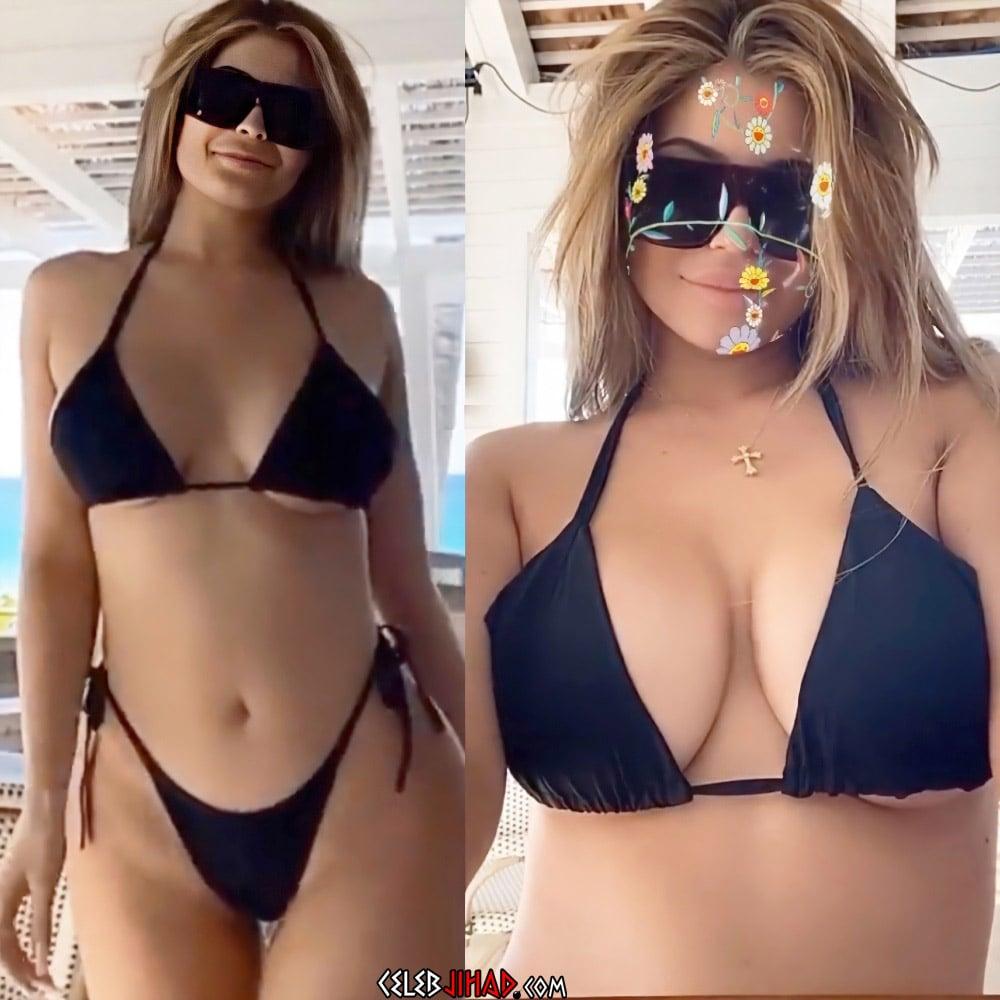 Kylie Jenner Flaunts Her Fake Billionaire Boobs