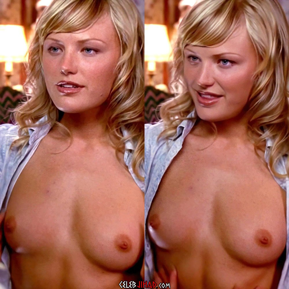 Malin Akerman Topless Nude Scene Enhanced In 4K