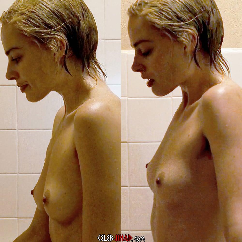 "Margot Robbie Nude Scene From ""Dreamland"" Enhanced In 4K"