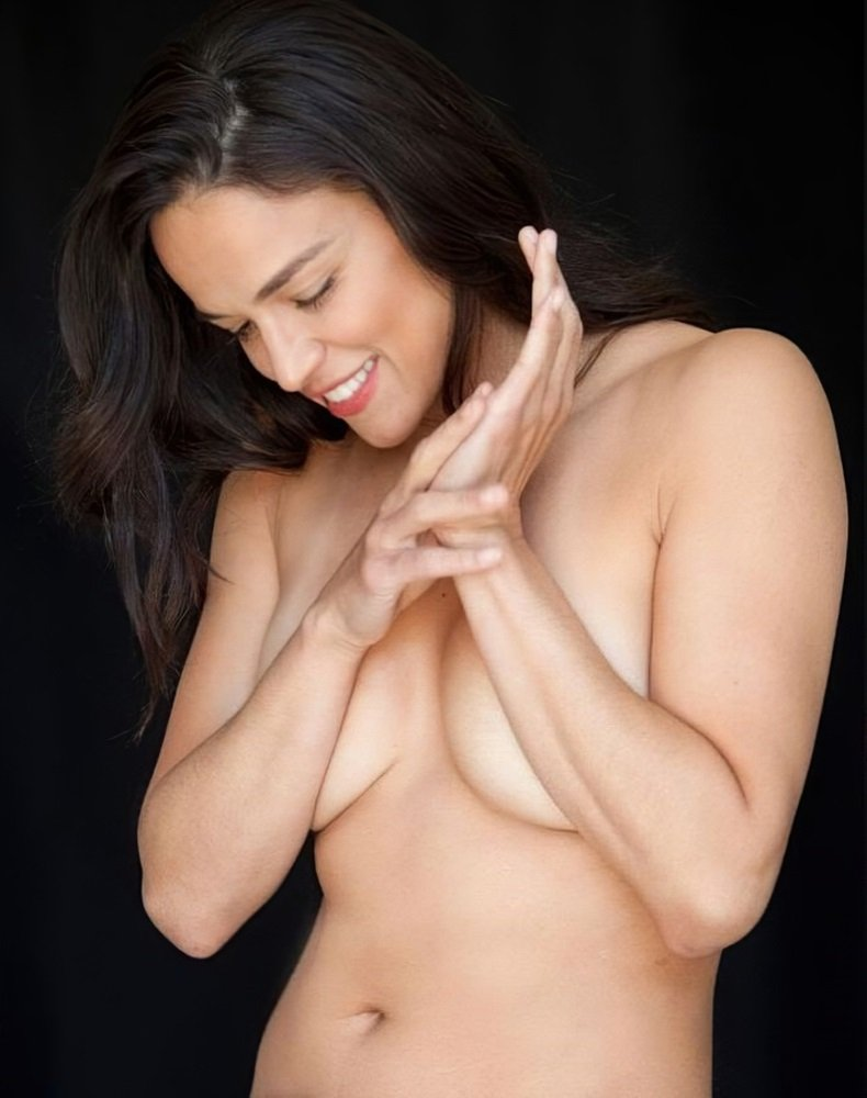 Michelle Rodriguez Covered Nude Tease