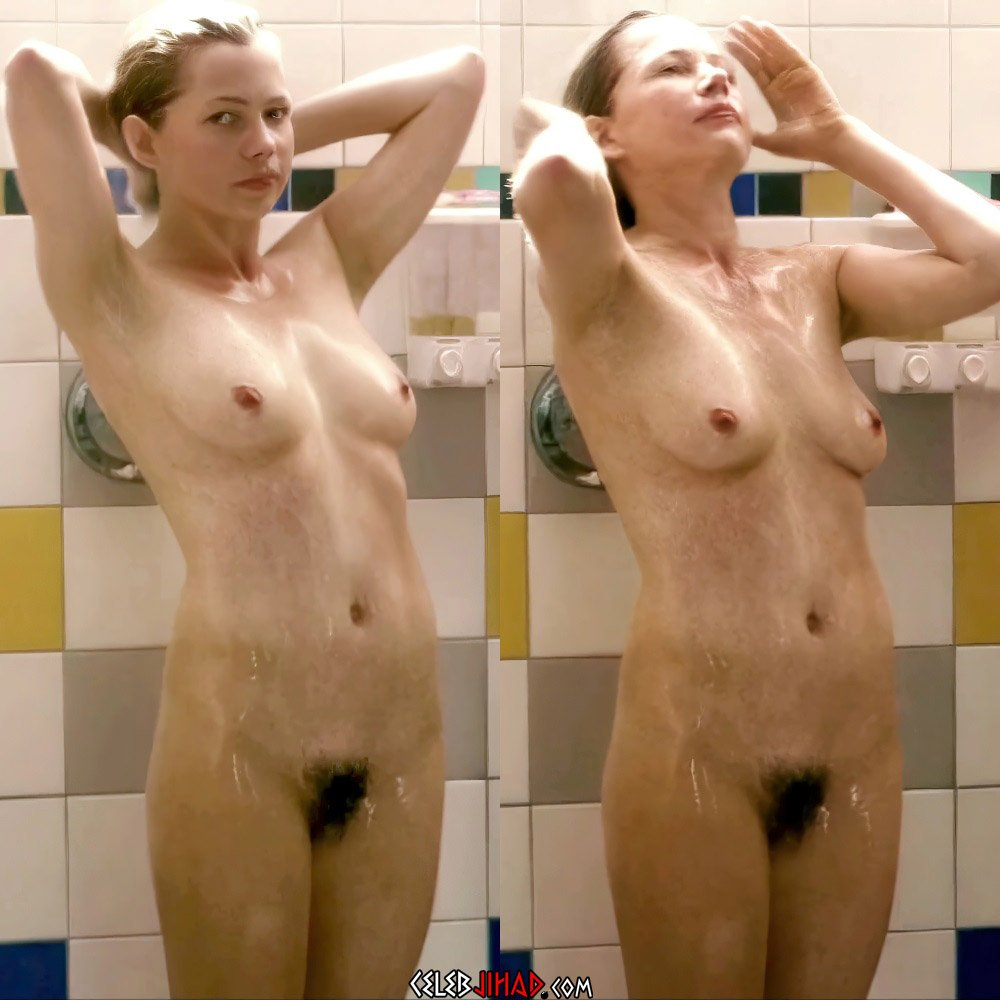 """Michelle Williams Full Frontal Nude Scene From """"Take This Waltz"""" Enhanced"""