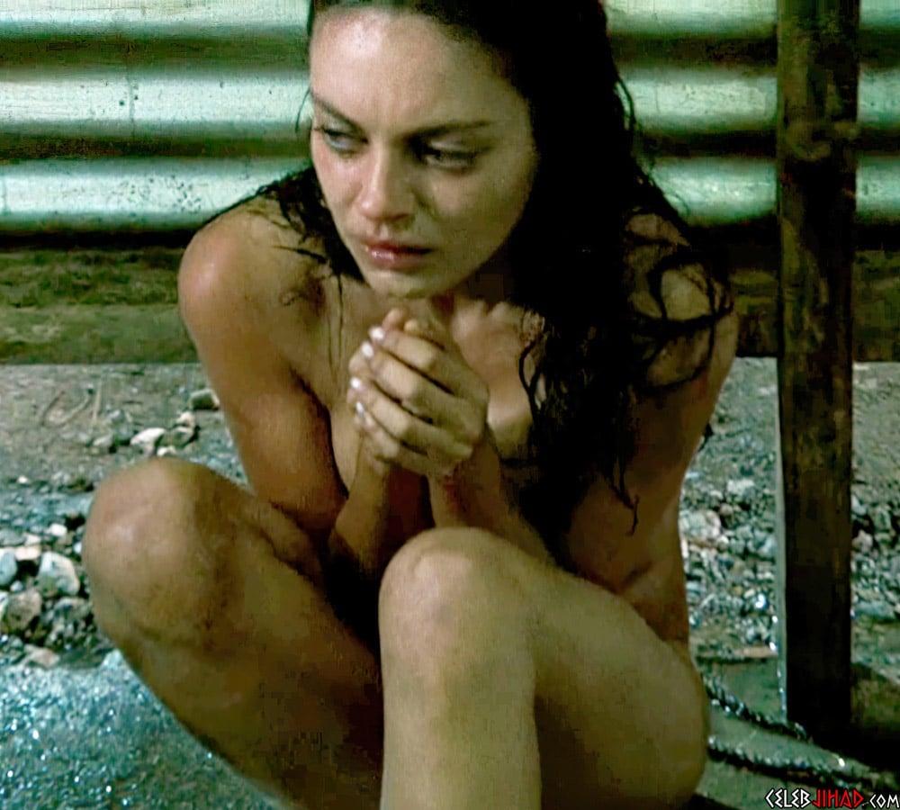 "Mila Kunis Nude Scene From ""Boot Camp"" Uncut"
