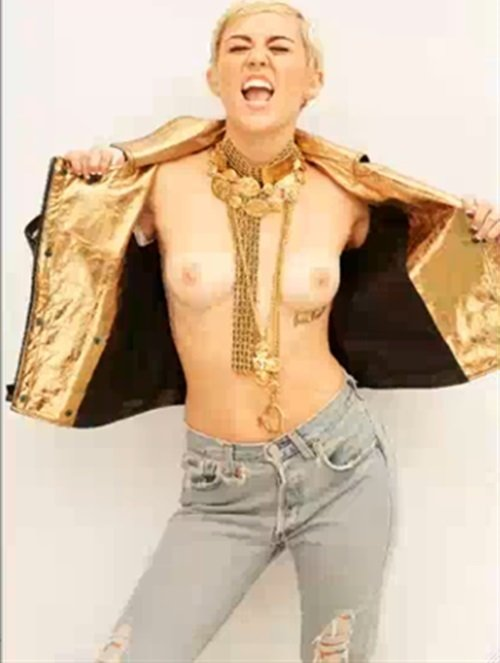 Is This Miley Cyrus Topless Photo Real?
