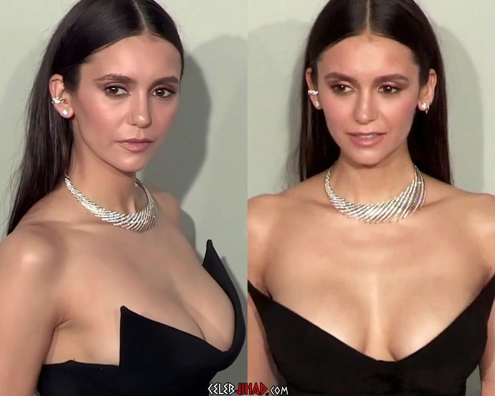 Nina Dobrev new boobs