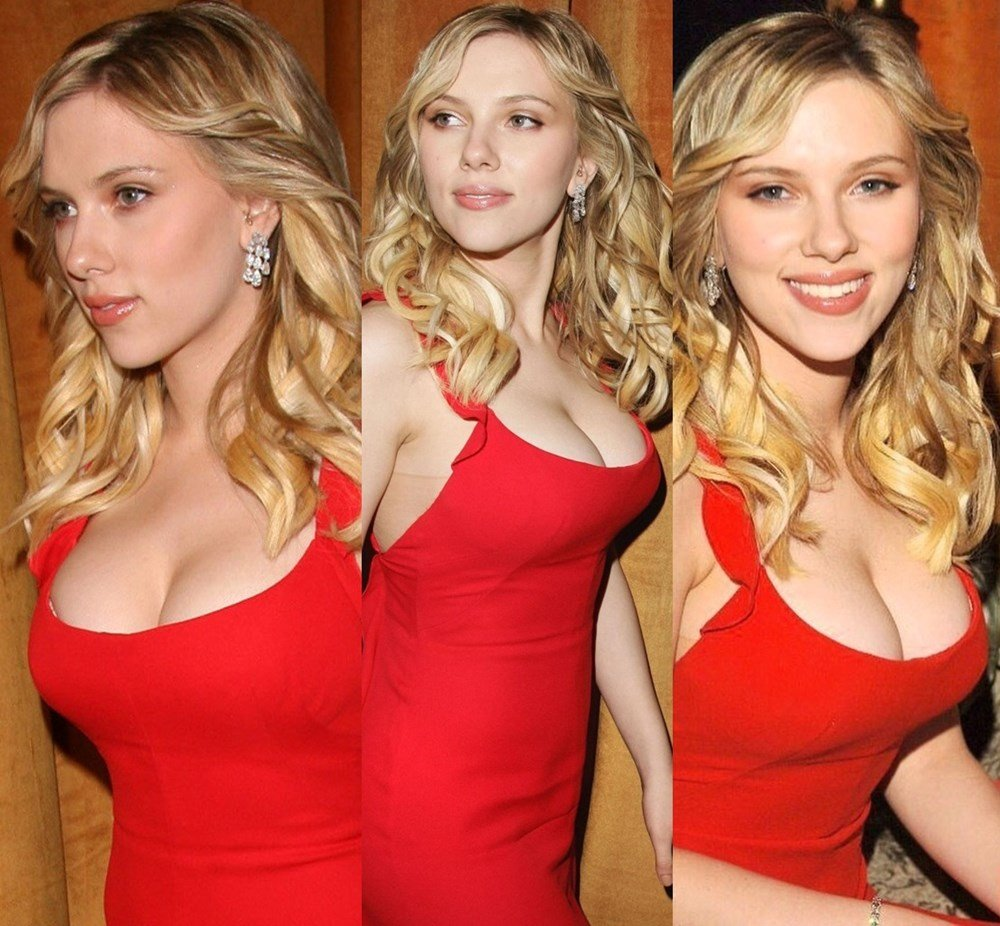 Scarlett Johansson Nude Boobs Remastered And Enhanced