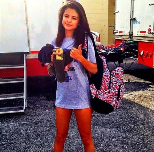 Selena Gomez Walk Of Shame With No Pants