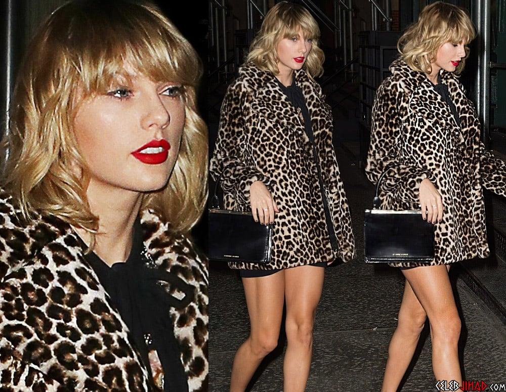 Taylor Swift leopard