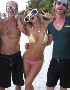 Bar Refaeli Behind The Scenes Bikini Pics