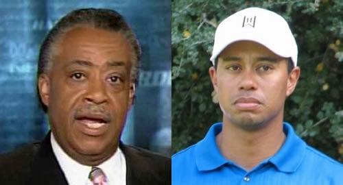 Al Sharpton Blasts Tiger Woods for Lack of Mistress Diversity