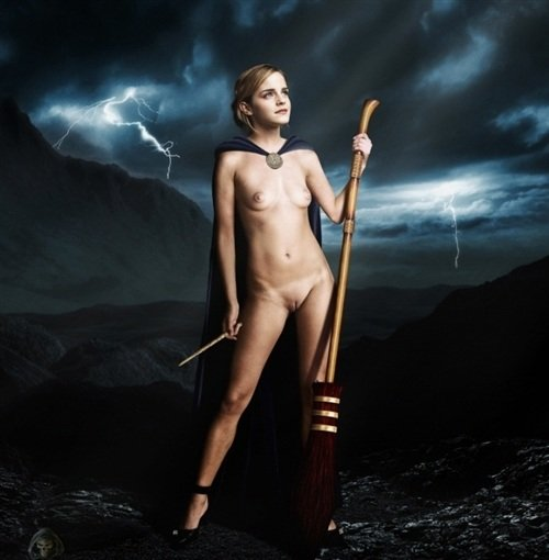 Emma Watson Naked In X-Rated Harry Potter Poster