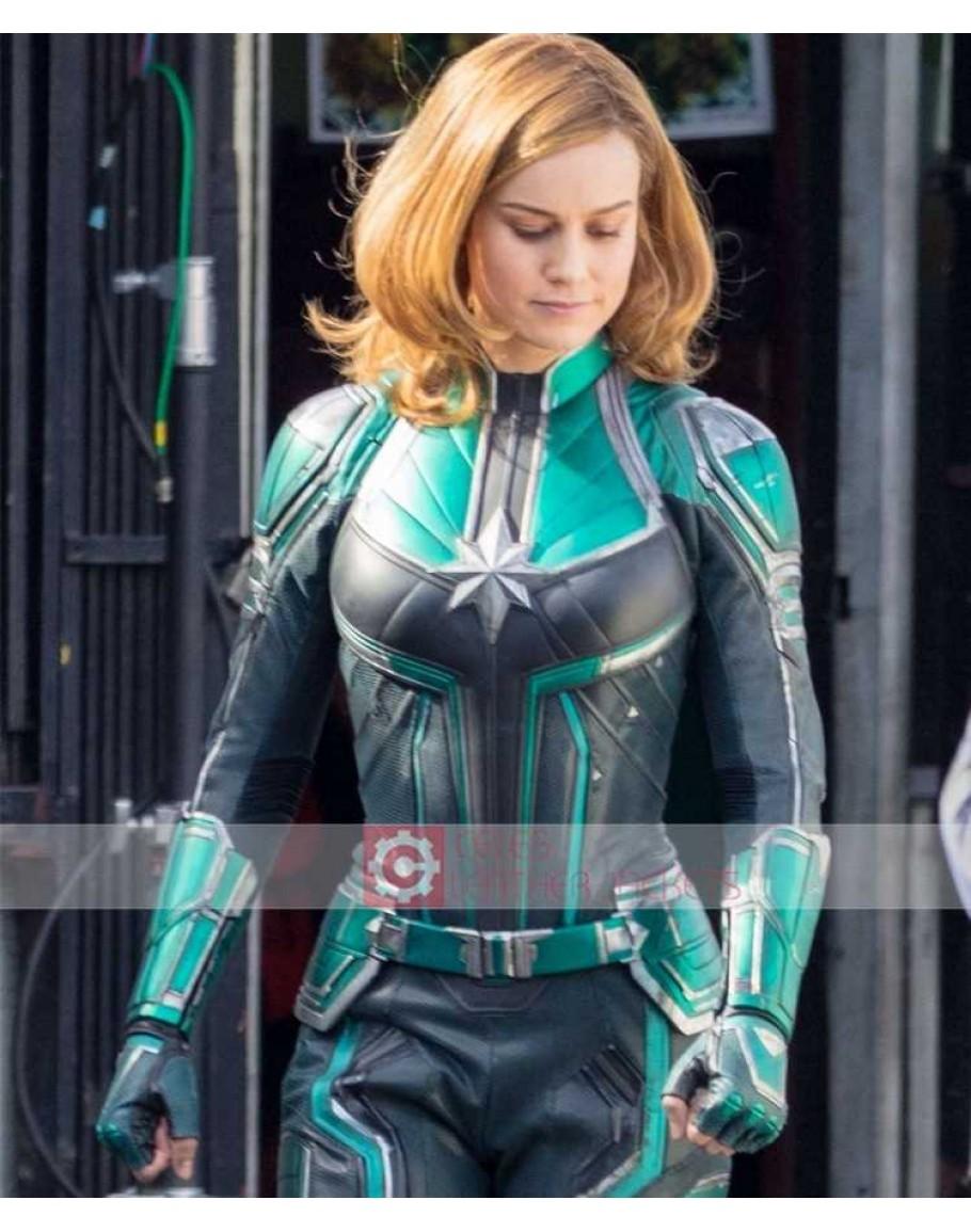 buy captain marvel brie larson (carol danvers) costume jacket