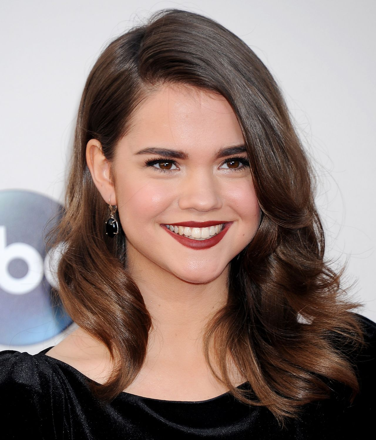 Maia Mitchell Attends 2013 American Music Awards In Los