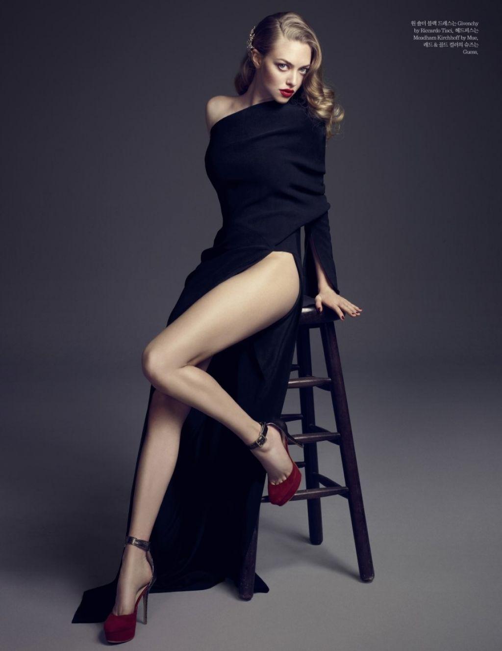 Amanda Seyfried ELLE Magazine Korea January 2014 Issue