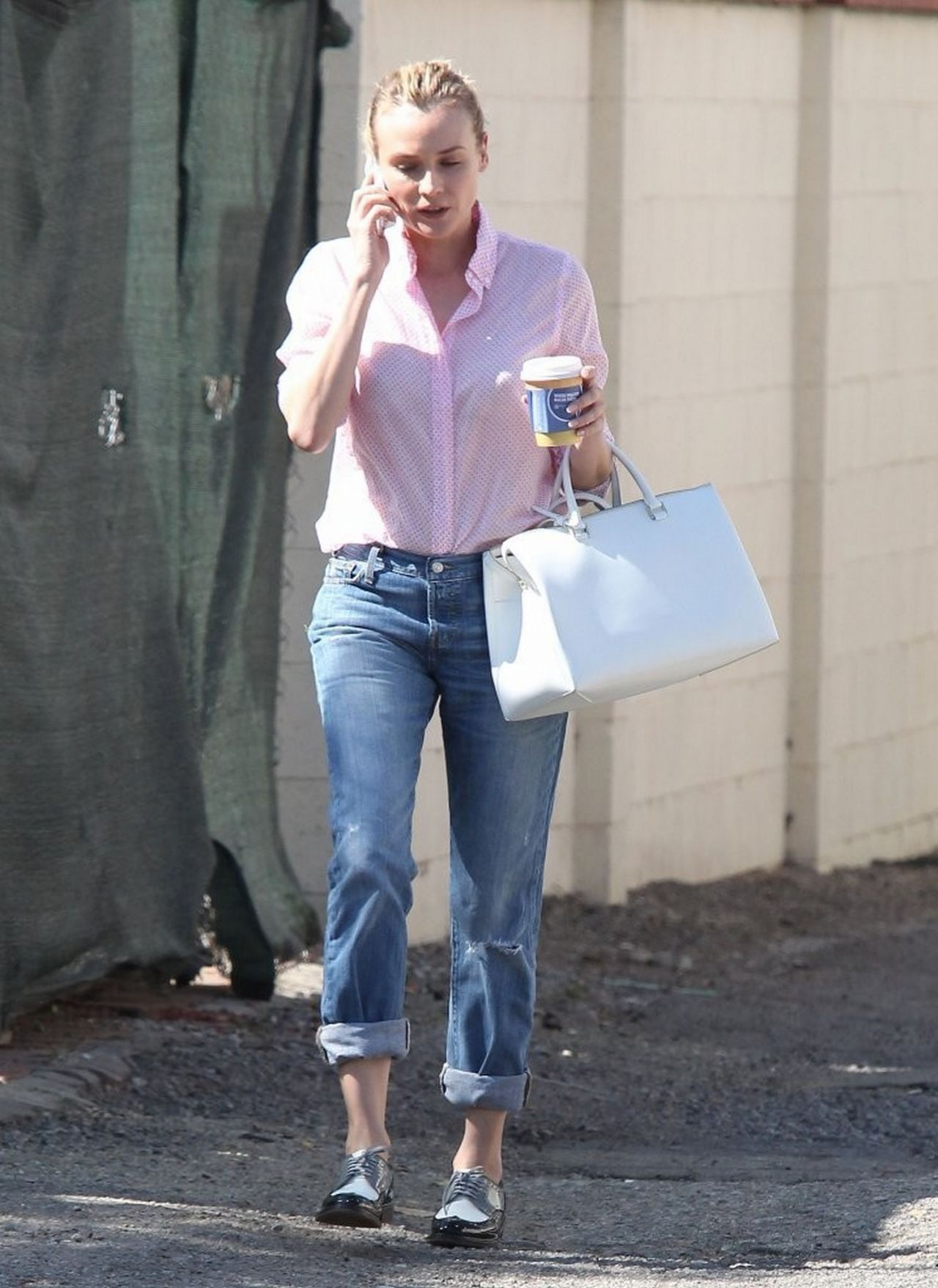 Diane Kruger Casual Style Out And About In West