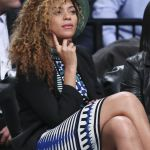 Beyonce Knowles Brooklyn Nets Basketball Game April 2014 Celebmafia