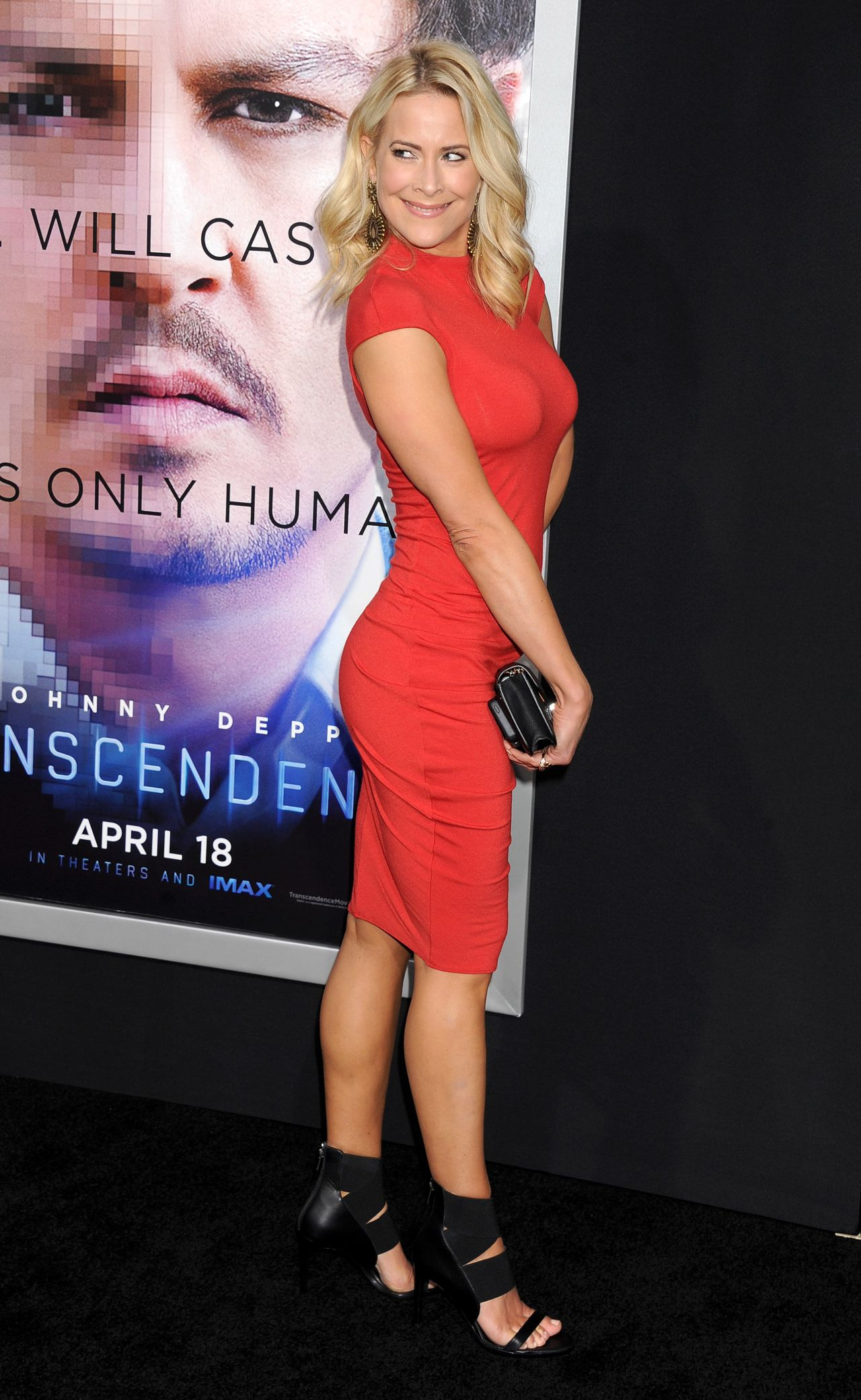 Brittany Daniel Transcendence Premiere In Los Angeles