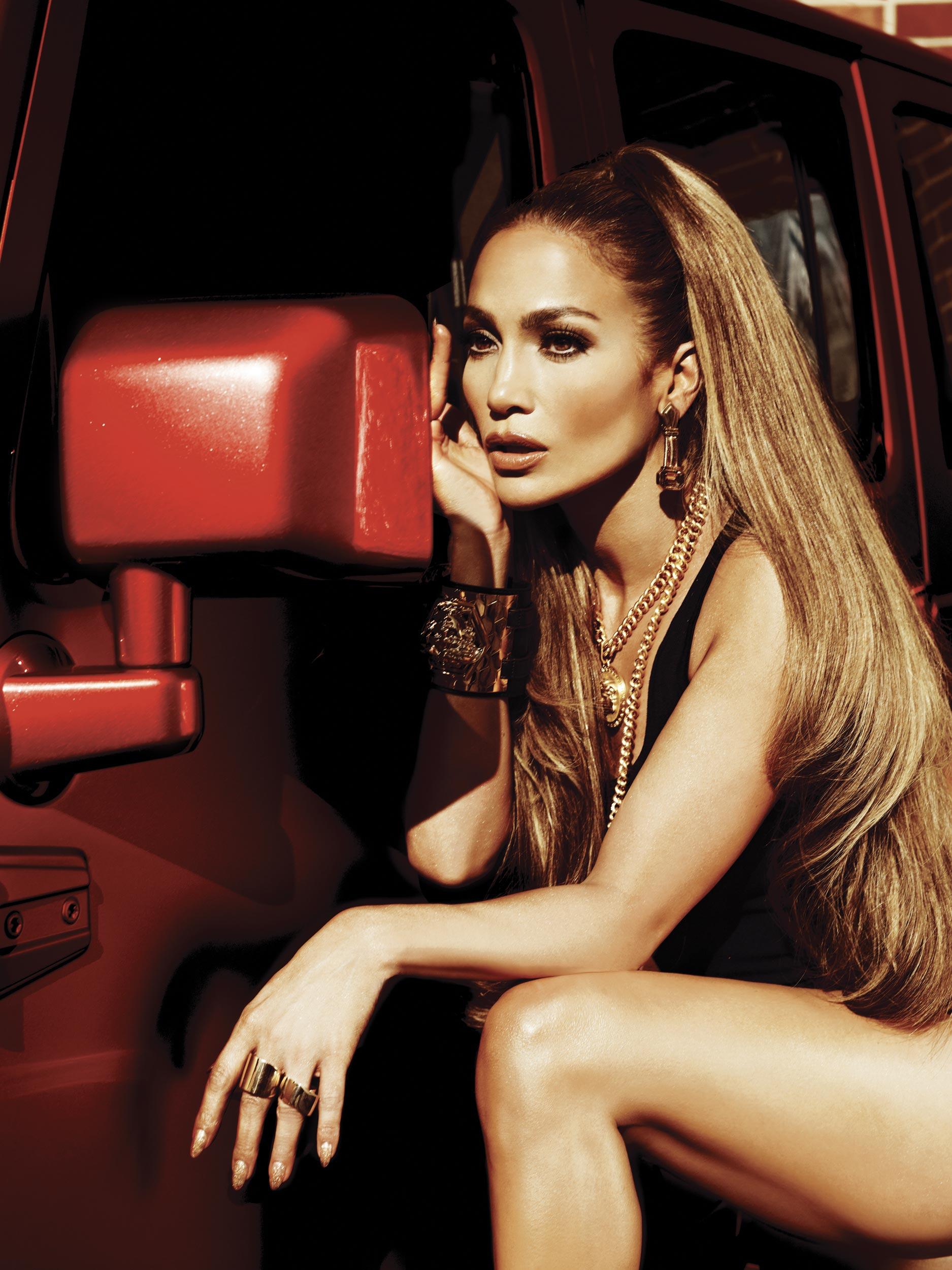 Jennifer Lopez Leggy And Hot For AKA Album