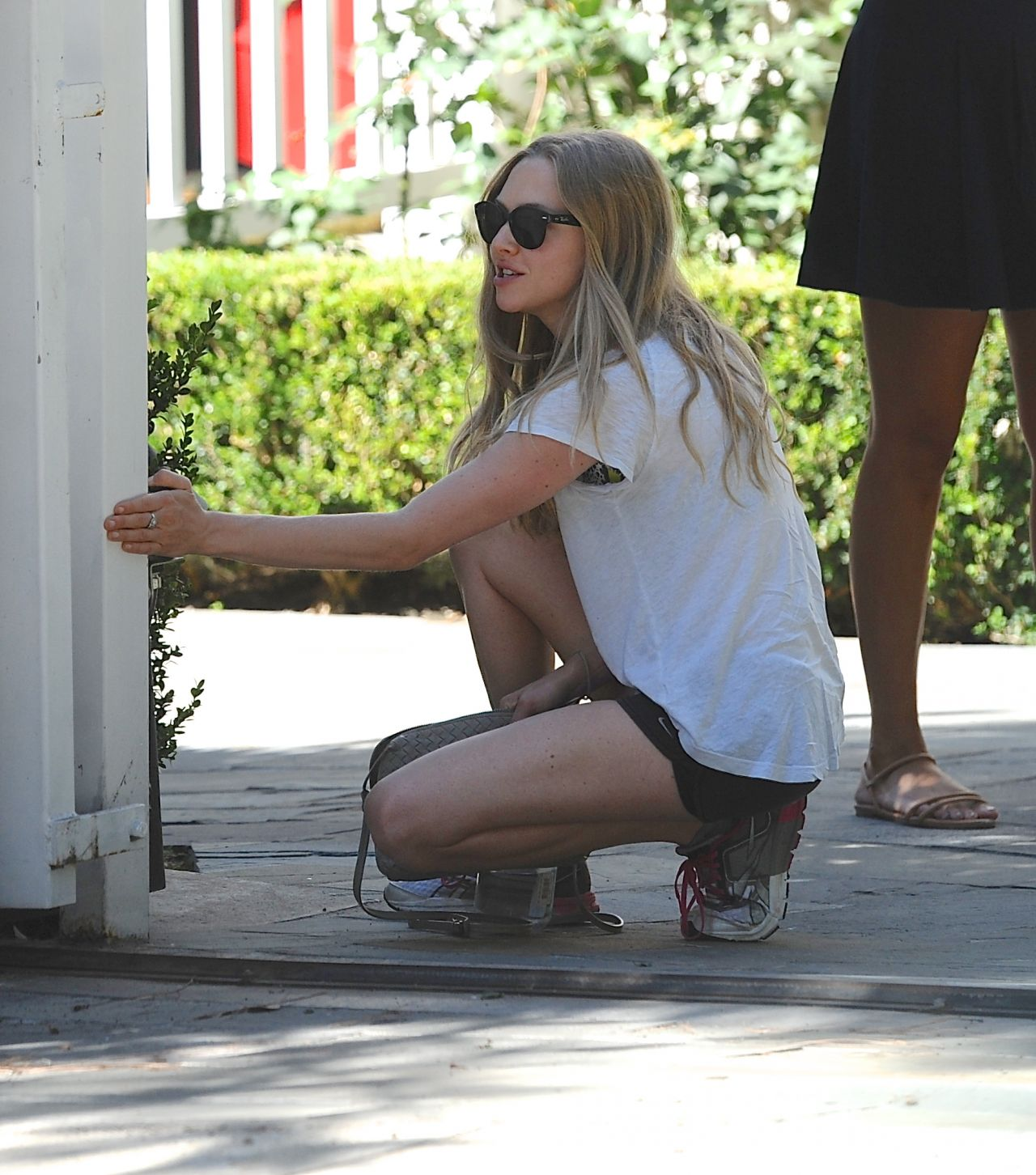 Amanda Seyfried Outside Her House In Los Angeles Aug 2014