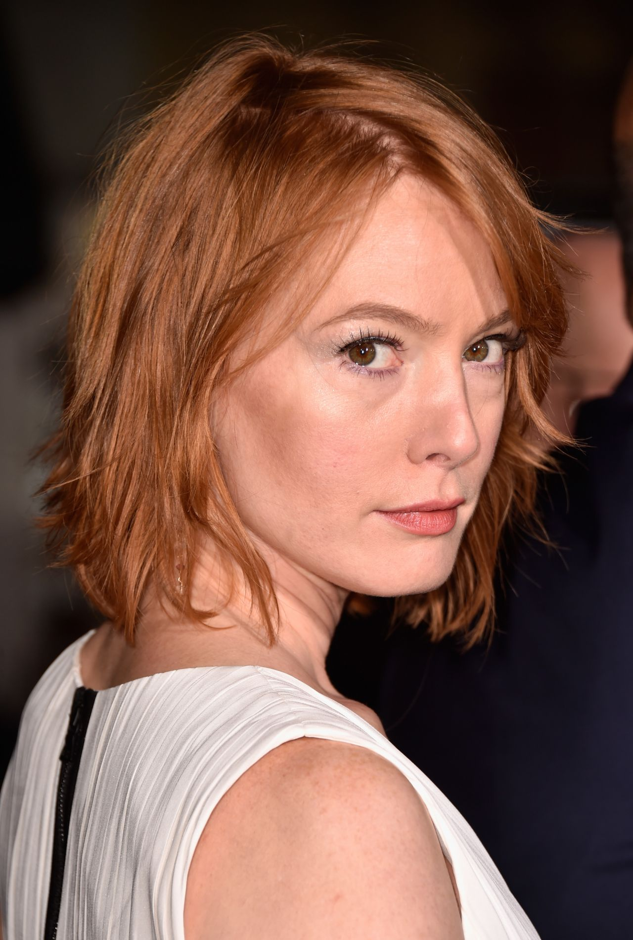 Alicia Witt Dumb And Dumber To Premiere In Westwood