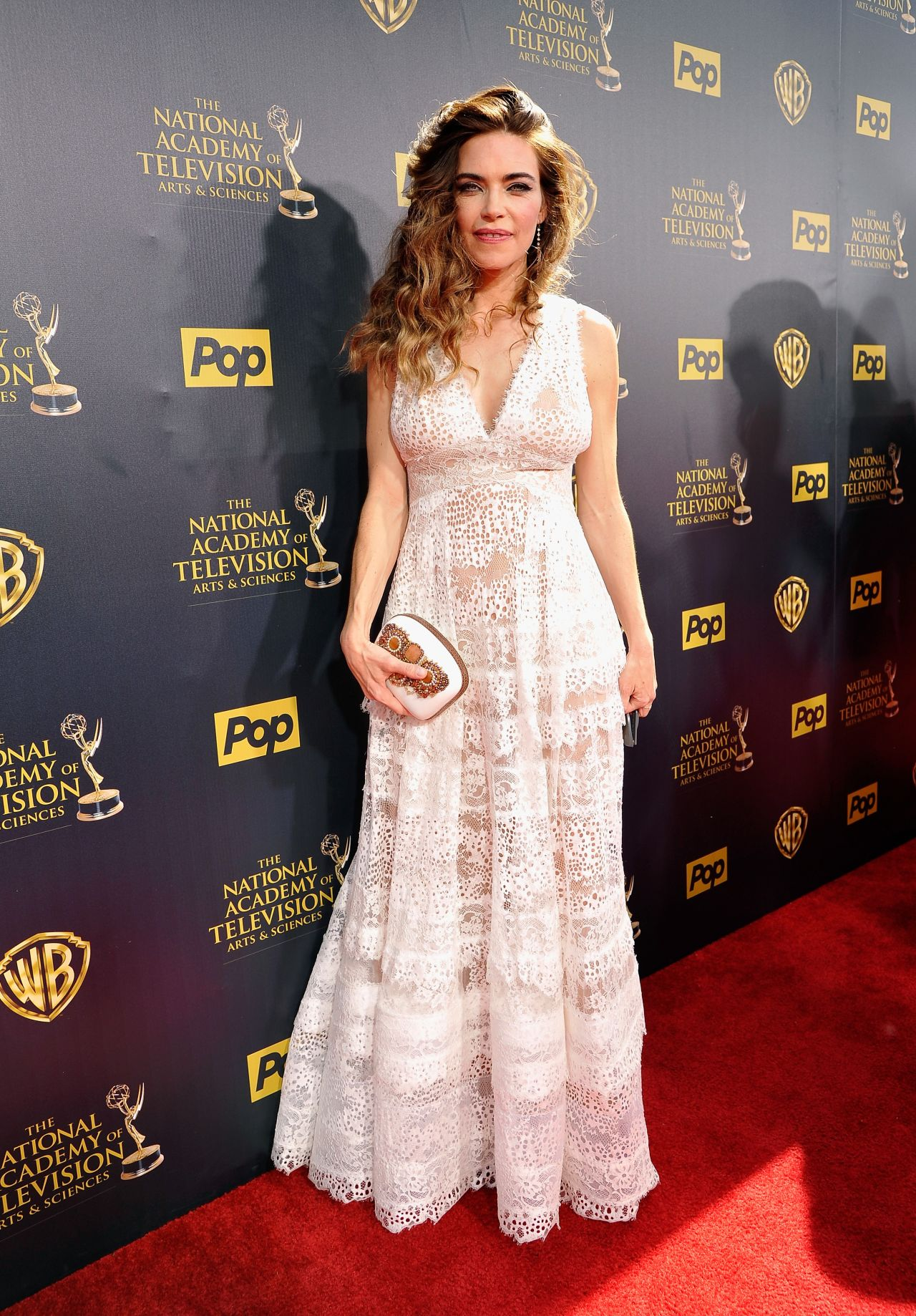Amelia Heinle 2015 Daytime Emmy Awards In Burbank