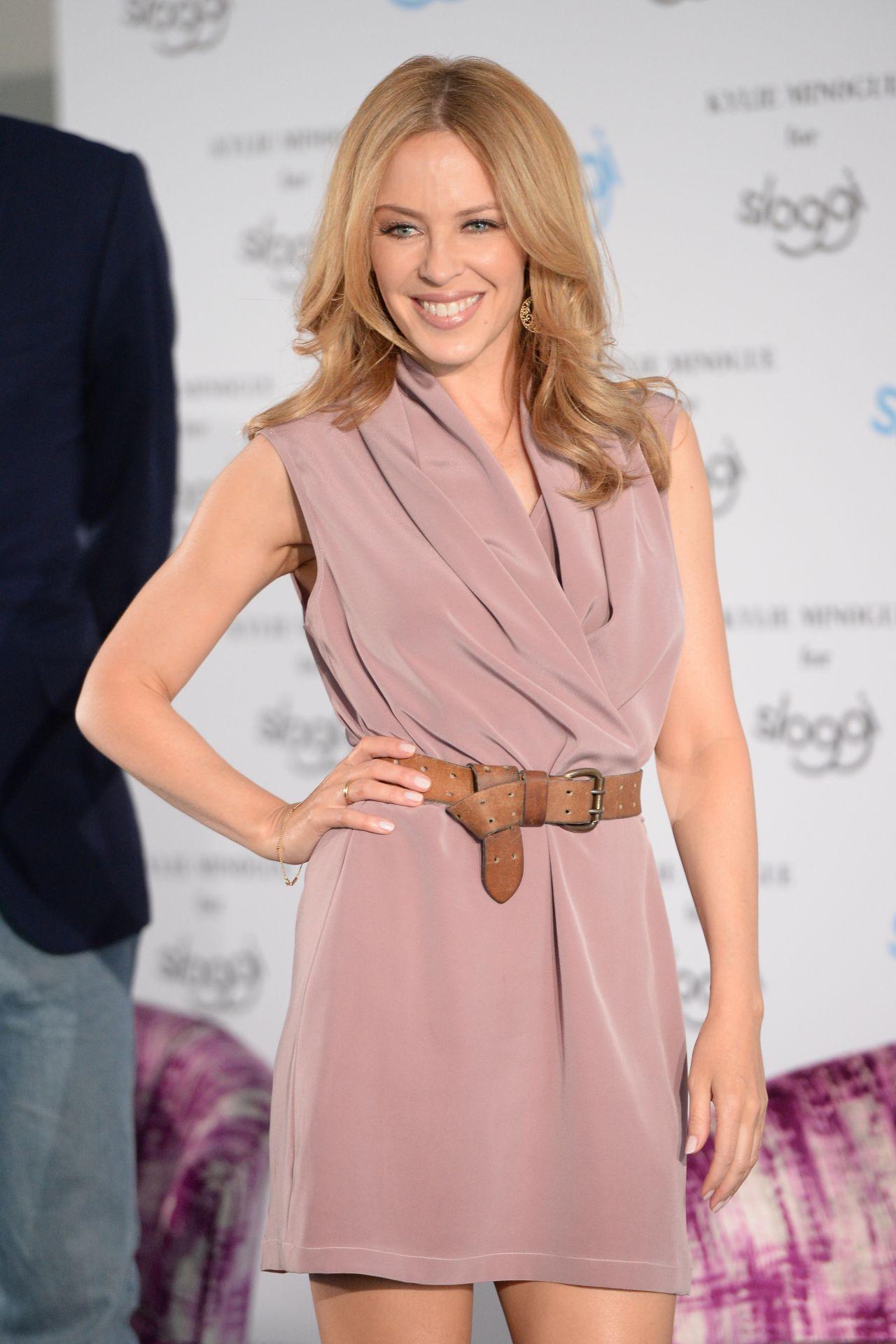 Kylie Minogue Sloggi Lingerie QampA In Berlin April 2015