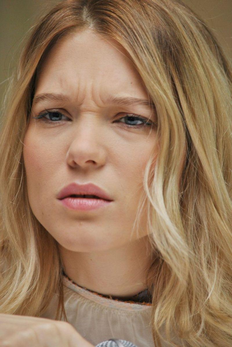 La Seydoux Spectre Movie Press Junket In Mexico City