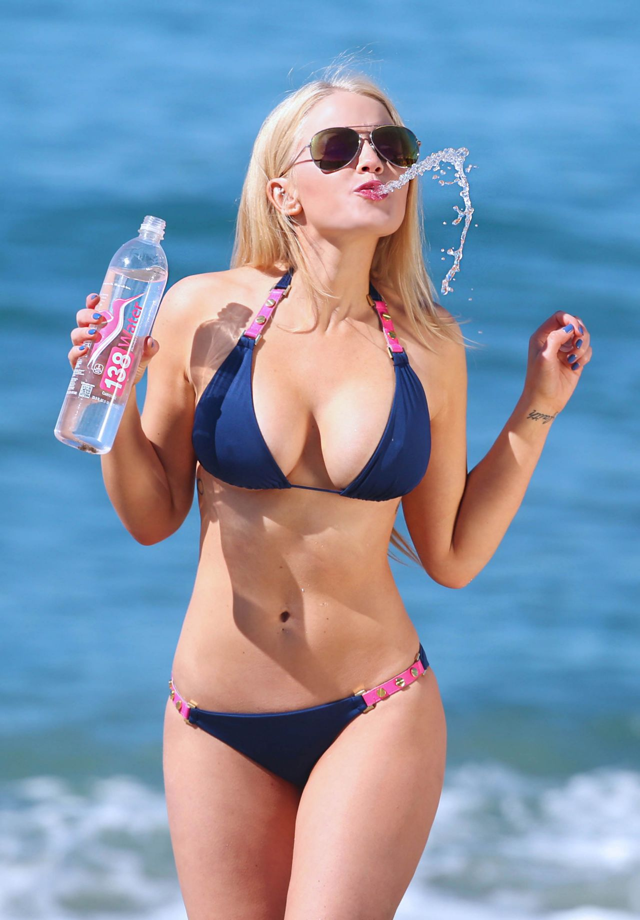 Anna Sophia Berglund Bikini Photoshoot For 138 Water In