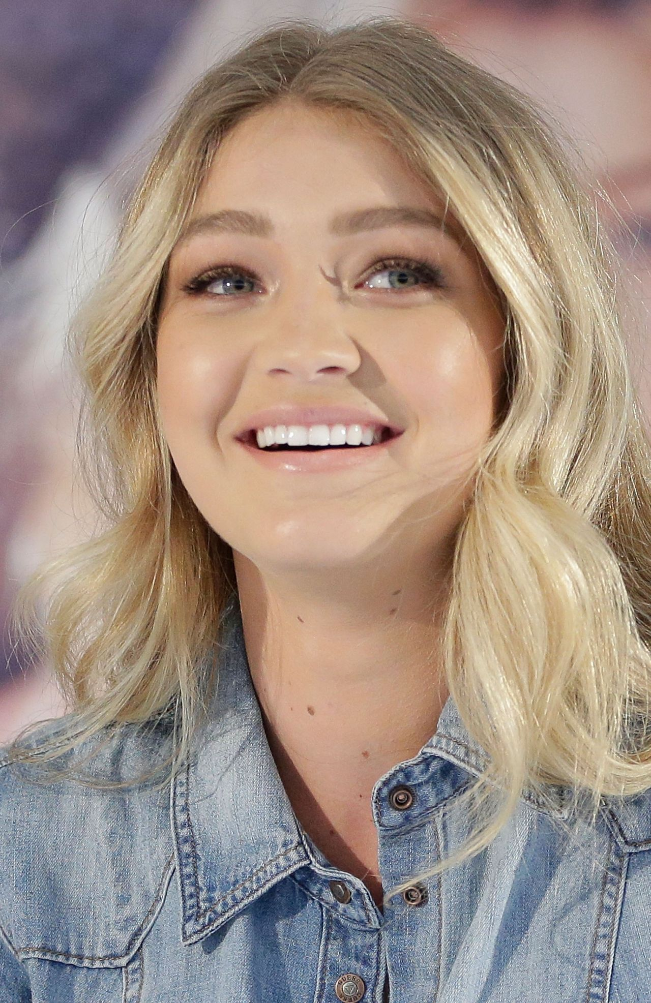 Gigi Hadid Promoting Guess At Myer Macquarie Centre In