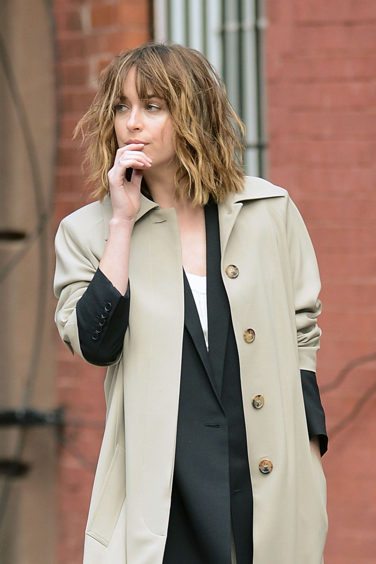 Dakota Johnson Photoshoot In New York City October 2015