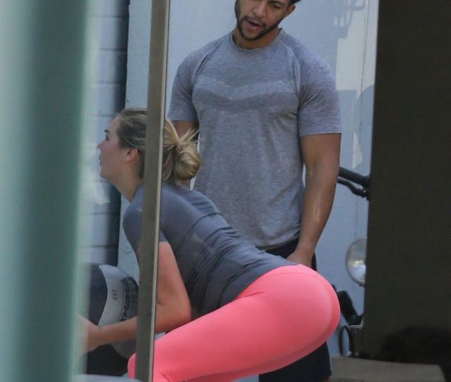 Kate Upton In Tights At The Gym In West Hollywood October 2015