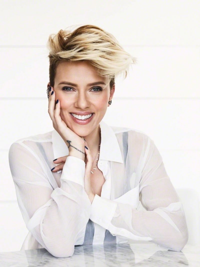 Scarlett Johansson Photoshoot For Parade Magazine April 2015