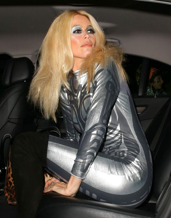 Claudia Schiffer Jonathan Rosss Halloween Party in