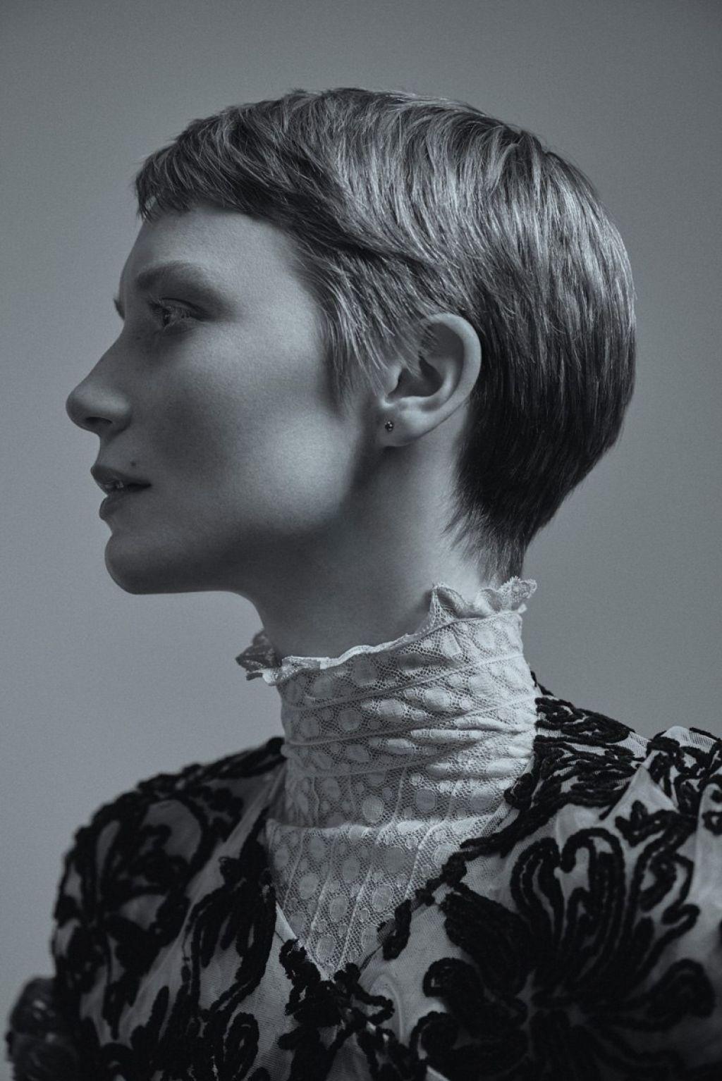 Mia Wasikowska Photoshoot For Flaunt Magazine 2015