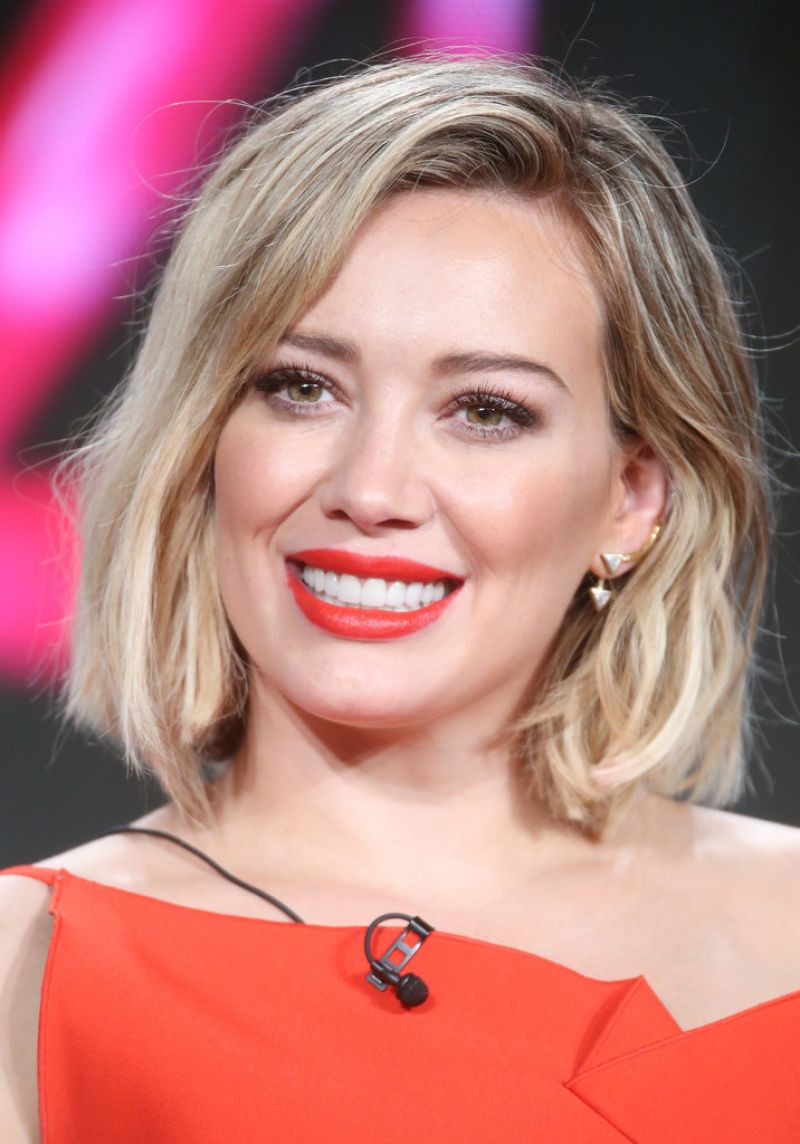 Hilary Duff TV LAND Younger Panel 2016 Winter TCA Tour