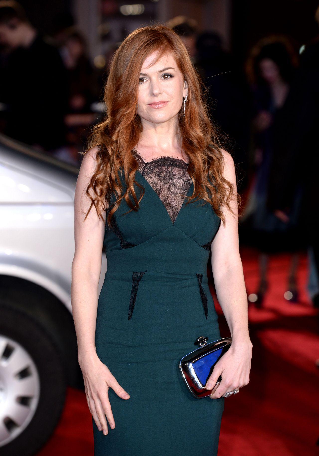Isla Fisher Grimsby Premiere In London